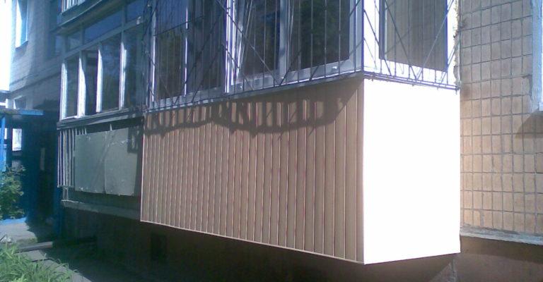 Балконы и лоджии в харькове компания вiконце.
